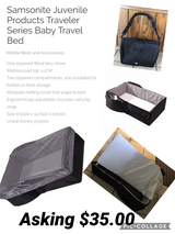Baby travel bed in Joliet, Illinois