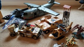 Lot of military toys in Kingwood, Texas