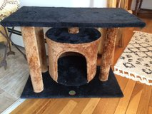 CAT TREE w/COZY 'HOUSE' - PRE-OWNED in Yorkville, Illinois
