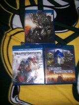 3- Blue Ray Trans Formers Movies in Batavia, Illinois