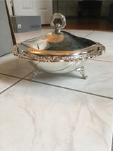 Silver Plate Covered Casserole in Kingwood, Texas