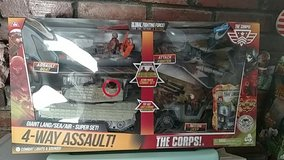 The Corps 4 Way Assault Mil Toy New in 29 Palms, California