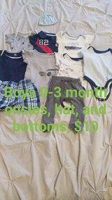Baby boy clothes lot in Leesville, Louisiana