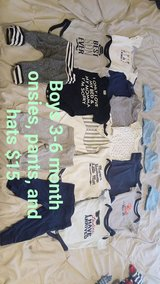 Baby boy clothes in Leesville, Louisiana