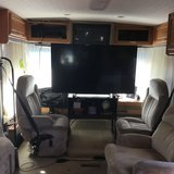 "RV with full size 60"" Sony TV W/D combo, Shed, Lawn Furniture, Weber Grill & Smoker, in Fort Bliss, Texas"