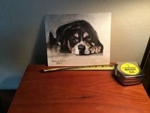 Oil painting of a puppy. in Houston, Texas
