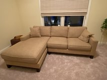 Golden Wheat Two Piece Sectional in Chicago, Illinois