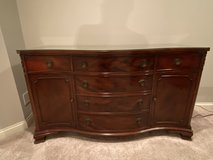 Antique Mahogany Buffet in Chicago, Illinois