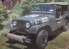 1956 Jeep Willys M38 CJ5 in Great Lakes, Illinois