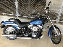 2005 Harley Davidson Softail Standard FXST motorcycle ONLY 679 original Miles!! in Okinawa, Japan