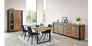 United Furniture - Onno Dining Set - (China+Table+Chairs+Delivery) - with Sideboard $1970 in Stuttgart, GE