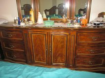Drexel Heritage Dresser with tripple mirror, Nightstand and Headboard in 29 Palms, California