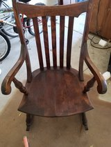 Sikes Company Antique Rocking Chair in St. Charles, Illinois