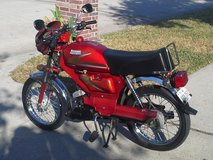 Italian Style, Café type moped in The Woodlands, Texas