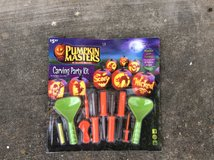 Pumpkin carving set in Houston, Texas
