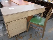 MCM Vintage Kroehler Desk and Chair in Bolingbrook, Illinois
