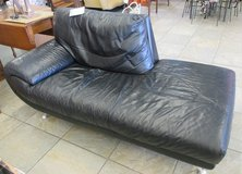 Italian Leather Chaise by Nicoletti in Westmont, Illinois