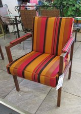 Pair of MCM Striped Chairs by Alma in Westmont, Illinois