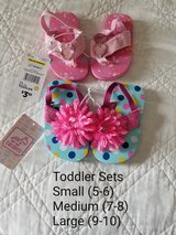 2 Pair of Toddler Sandals in Columbus, Georgia