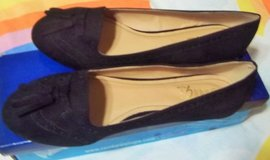 New black suede women's shoes size 8 1/2 in Alamogordo, New Mexico