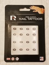 GA BULLDOGS NAIL TATTOOS in Columbus, Georgia