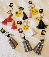 LOT OF 8 TASSEL KEYCHAINS in Fort Benning, Georgia