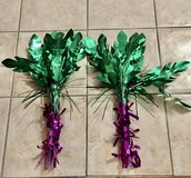 Palm Tree Decorations for a party in Naperville, Illinois
