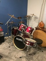 Professional drum set in Westmont, Illinois