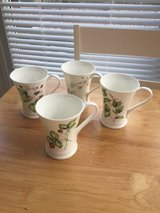 Four Fine Bone China Mugs in Lakenheath, UK