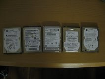 Laptop & Notebook Sata HDDs (5 count) in Kingwood, Texas