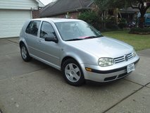 NICE/SAFE.  2001 VW GOLF in The Woodlands, Texas