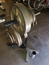 """CAP 2"""" weight plate rack (with out weights) in Fort Leonard Wood, Missouri"""