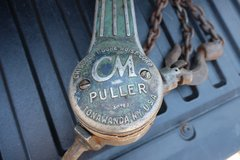 Chisholm-Moore Hoists CM Puller Come Along in Naperville, Illinois