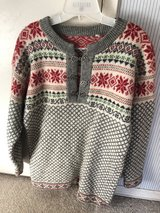 Norwegian New Wool Sweater with Pewter Clasps in Travis AFB, California