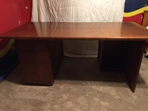 Wood Office Desk in Bolingbrook, Illinois