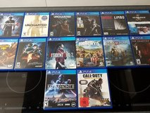 PS4 Games Like new condition in Ramstein, Germany