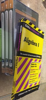 THE GREAT COURSES: Algebra I,  3 Parts, 6 DVDs. New. Sealed. in Warner Robins, Georgia