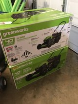 "Greenworks 40V 20"" electric lawn mower in Warner Robins, Georgia"