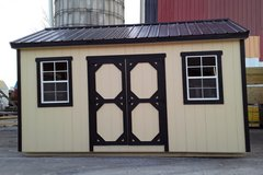 Amish made utility shed in Fort Campbell, Kentucky