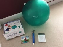 Gaiam exercise ball in St. Charles, Illinois