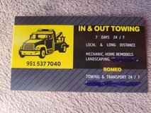 TOWING  N. TRANSPORTING in 29 Palms, California