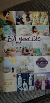 New  Spring/Summer Scentsy  brochure in Fort Campbell, Kentucky