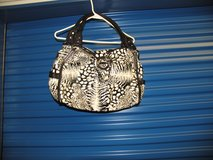 Women Large Black & White pocketbook New without tags in Byron, Georgia