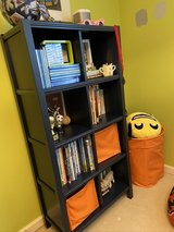 Cute Crate&Kids navy blue Bookshelf in Joliet, Illinois