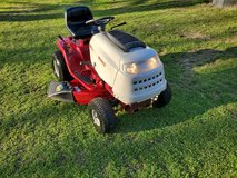 White Outdoor Riding Lawn Mower! in Warner Robins, Georgia