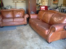 Nice.. Leather Sofa/ Love Seat set in Houston, Texas
