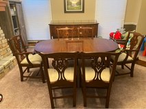 Dining Room Table Set with Buffet in Shorewood, Illinois