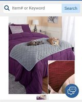 Pet blanket/bed cover in Aurora, Illinois