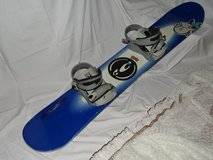 Snowboard  135 with bindings, good condition made in Austria(!) in Ramstein, Germany