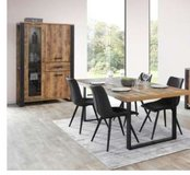 United Furniture - Onno Dining Set - (China+Table+Chairs+Delivery) - with Sideboard $1970 in Grafenwoehr, GE